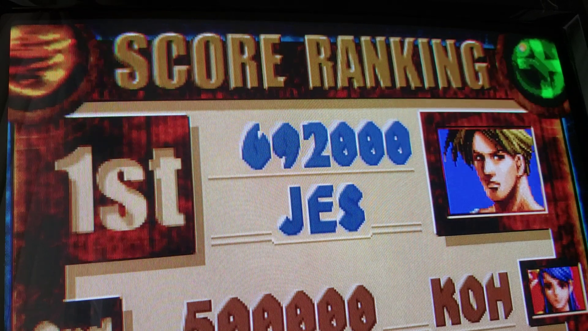 JES: Thunder Heroes [theroes] (Arcade Emulated / M.A.M.E.) 692,000 points on 2019-08-24 16:35:43