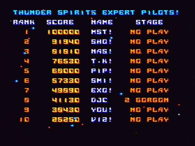 derek: Thunder Spirits (SNES/Super Famicom) 41,130 points on 2016-12-23 17:10:35
