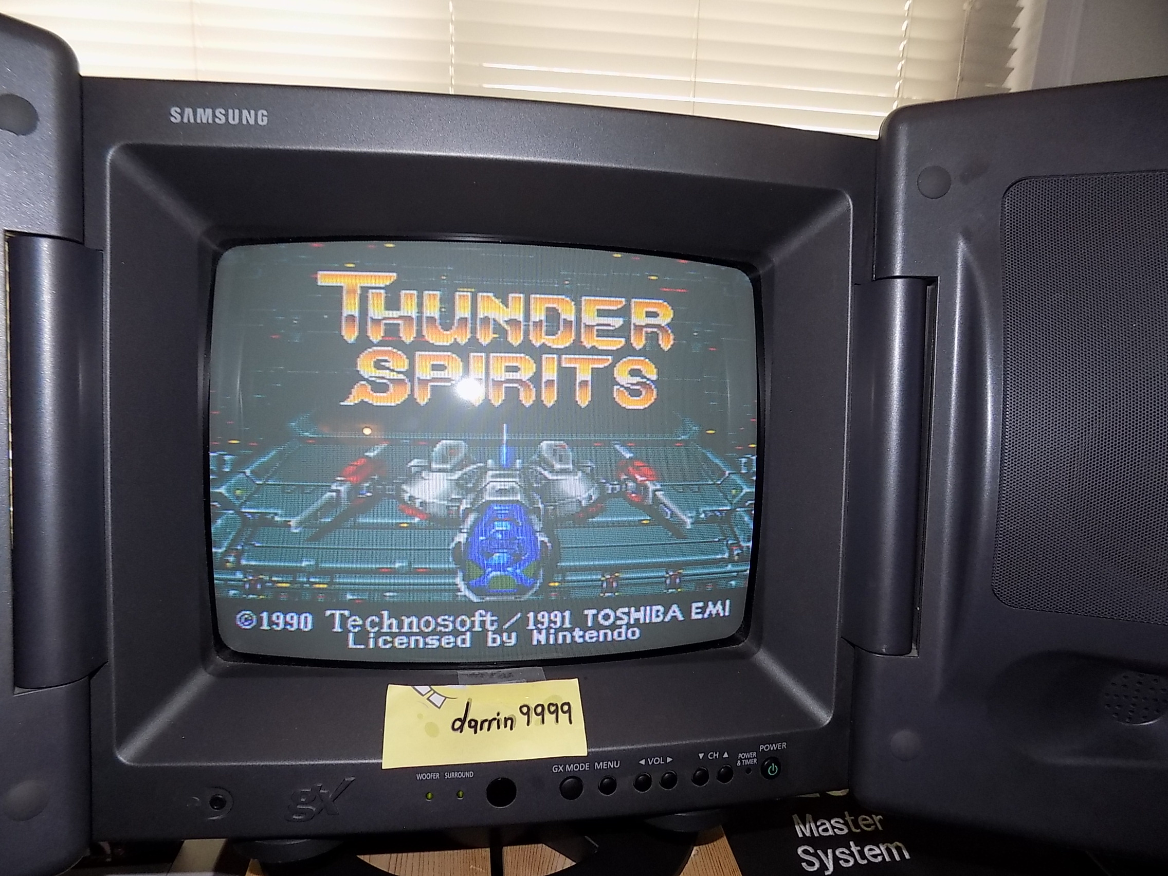 darrin9999: Thunder Spirits (SNES/Super Famicom) 21,290 points on 2019-05-24 14:46:55