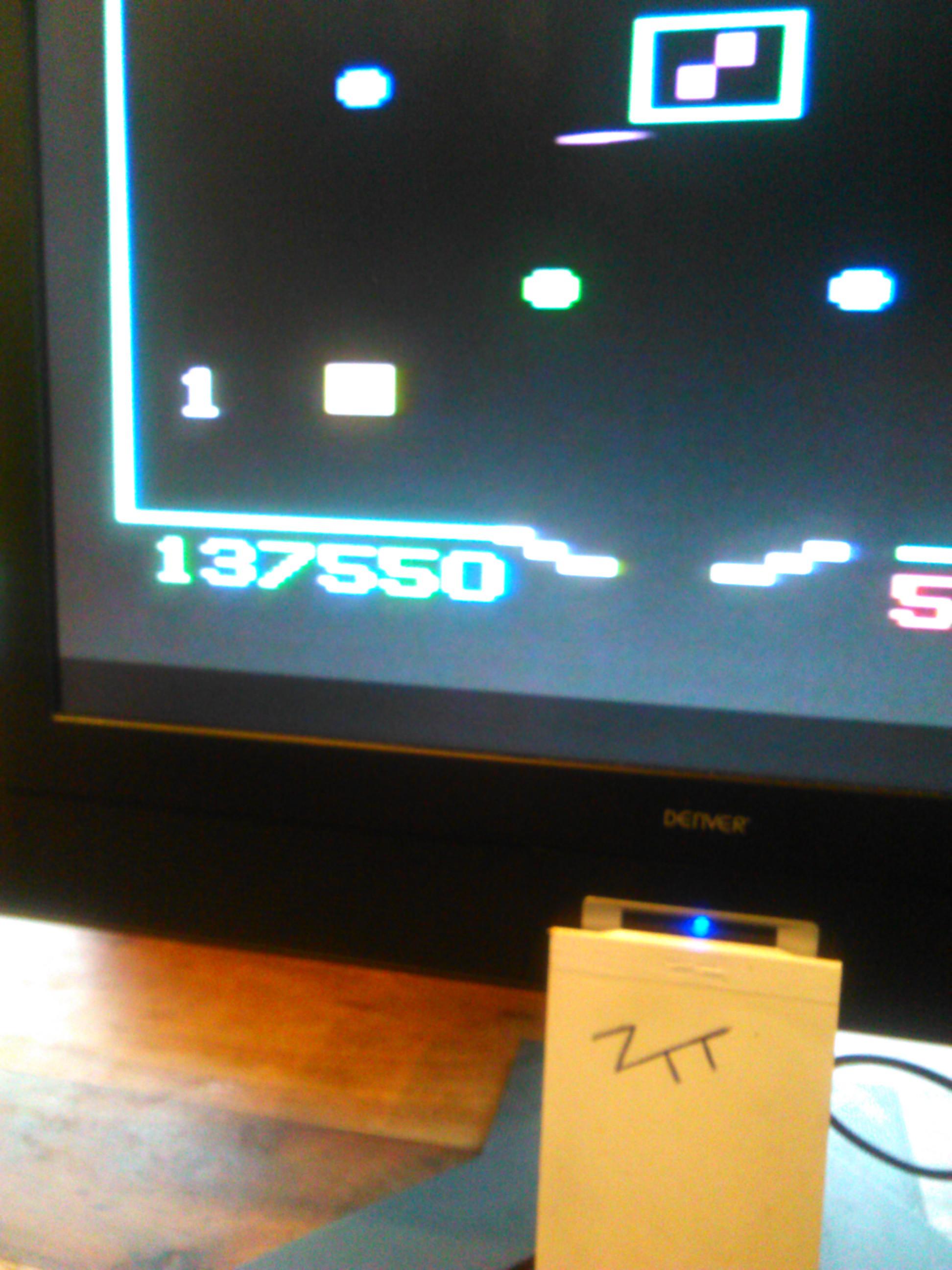 Thunderball / Flipper Game 137,550 points