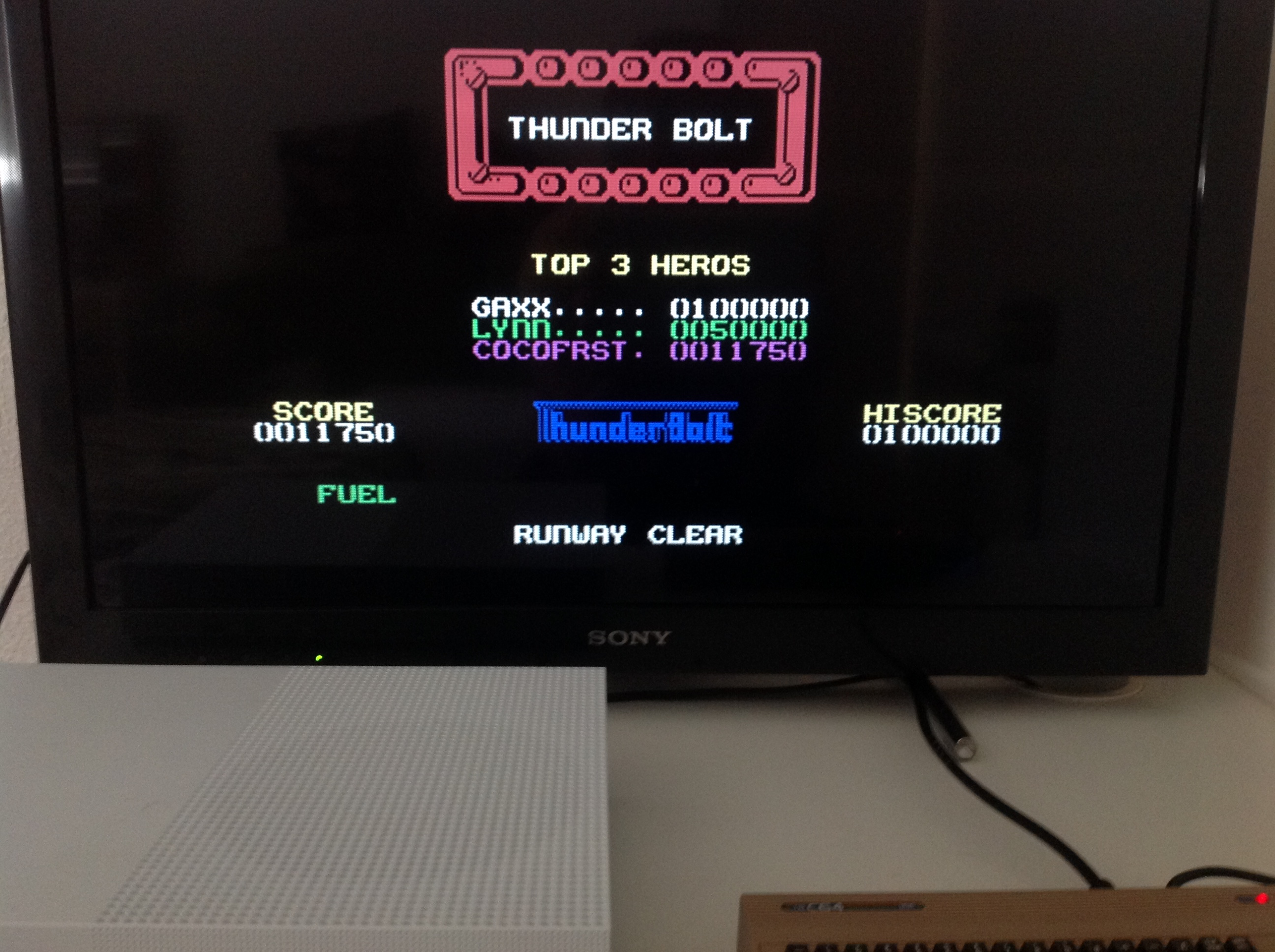 CoCoForest: Thunderbolt [Codemasters] (Commodore 64 Emulated) 11,750 points on 2018-04-16 08:14:50