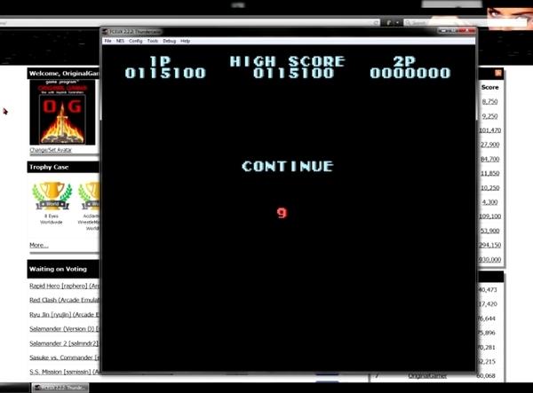 OriginalGamer: Thundercade (NES/Famicom Emulated) 115,100 points on 2015-06-19 11:57:27