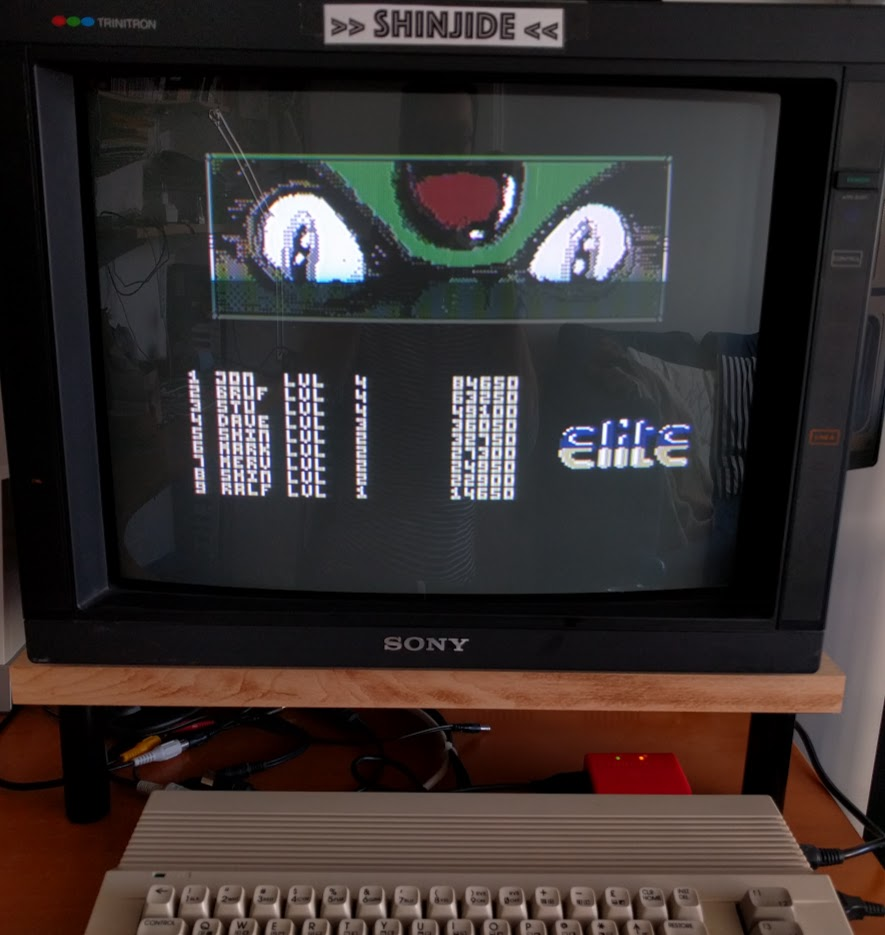 SHiNjide: Thundercats (Commodore 64) 32,750 points on 2017-01-01 05:27:57
