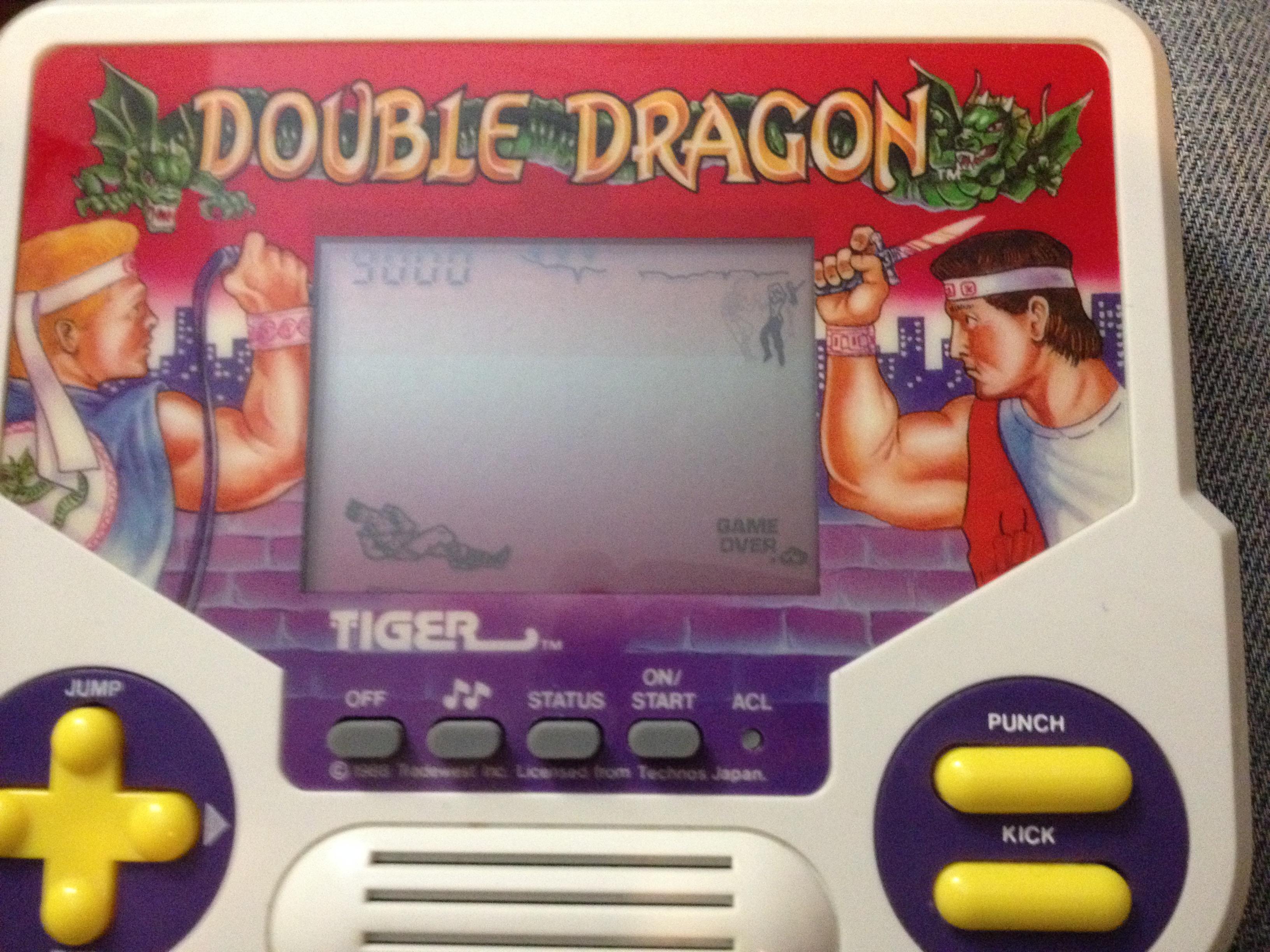 zerooskul: Tiger Electronics Double Dragon (Dedicated Handheld) 9,900 points on 2021-04-10 03:29:55
