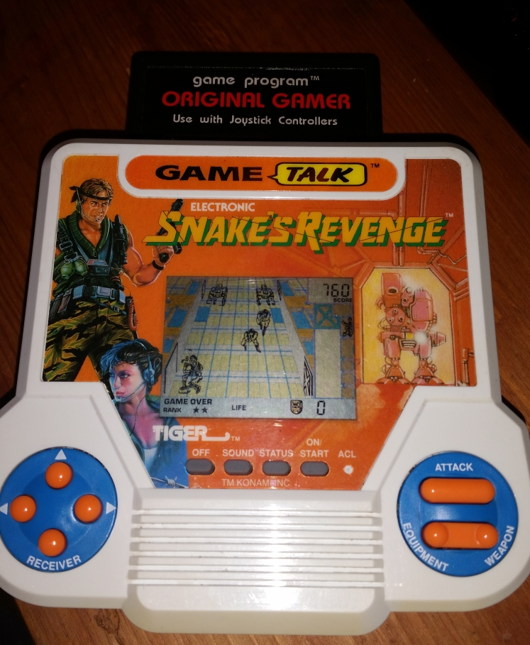 OriginalGamer: Tiger Electronics Snakes Revenge (Dedicated Handheld) 760 points on 2016-05-27 18:43:32