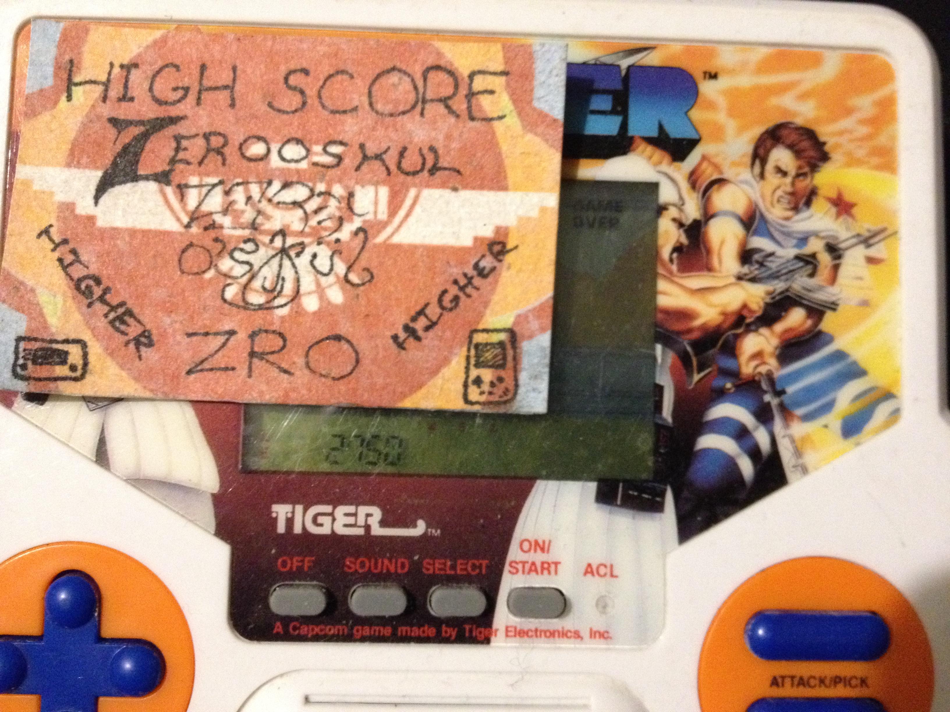 zerooskul: Tiger Electronics Strider (Dedicated Handheld) 2,750 points on 2019-12-17 01:37:30