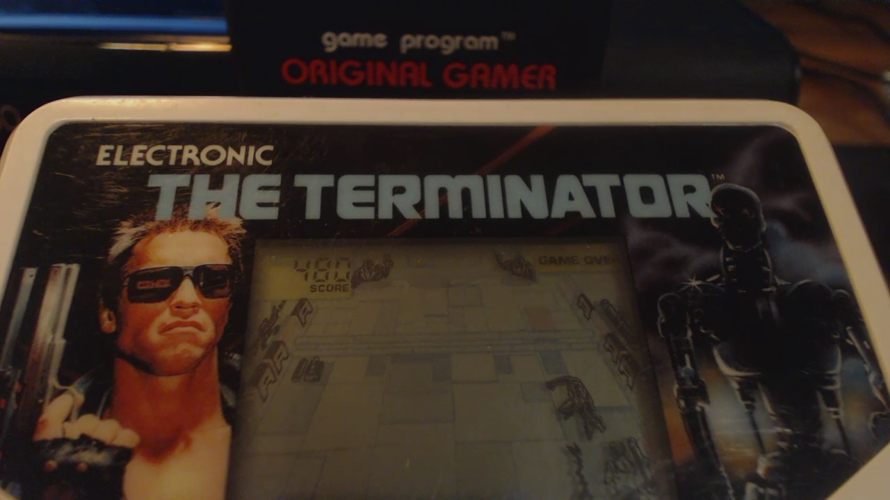 OriginalGamer: Tiger Electronics The Terminator (Dedicated Handheld) 480 points on 2016-05-24 20:57:17