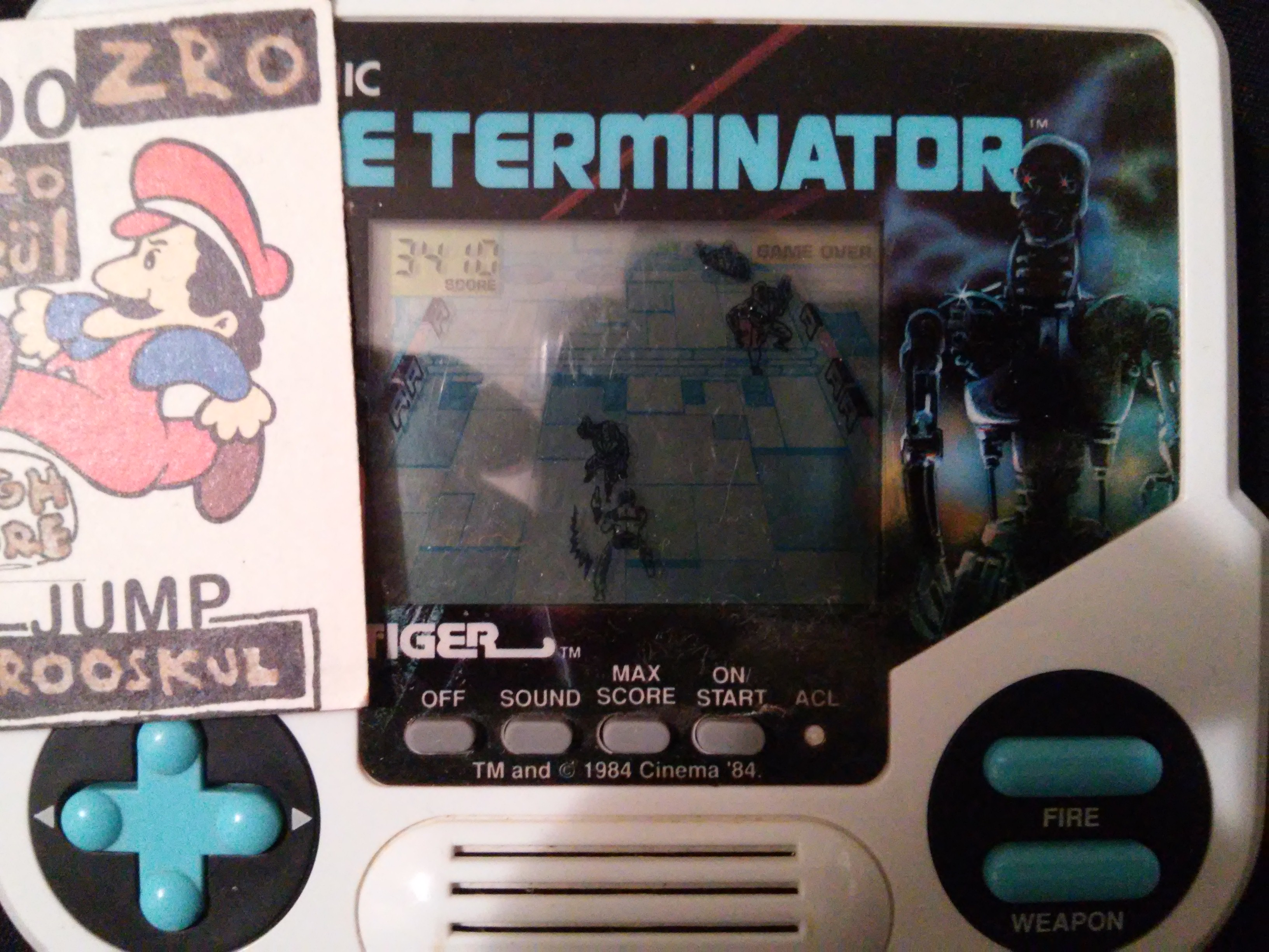 Tiger Electronics The Terminator 8,940 points