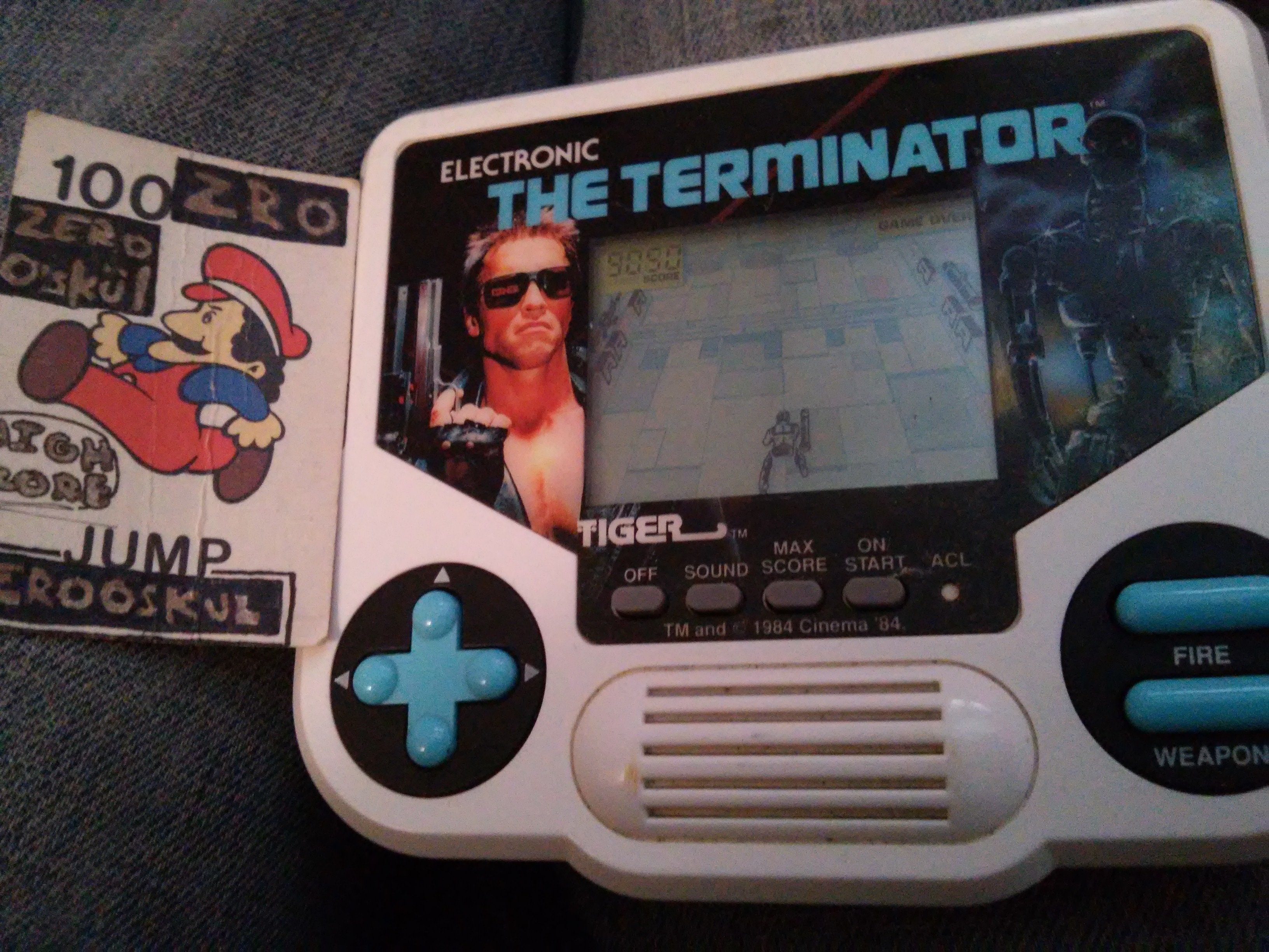 zerooskul: Tiger Electronics The Terminator (Dedicated Handheld) 9,050 points on 2019-04-10 15:31:01