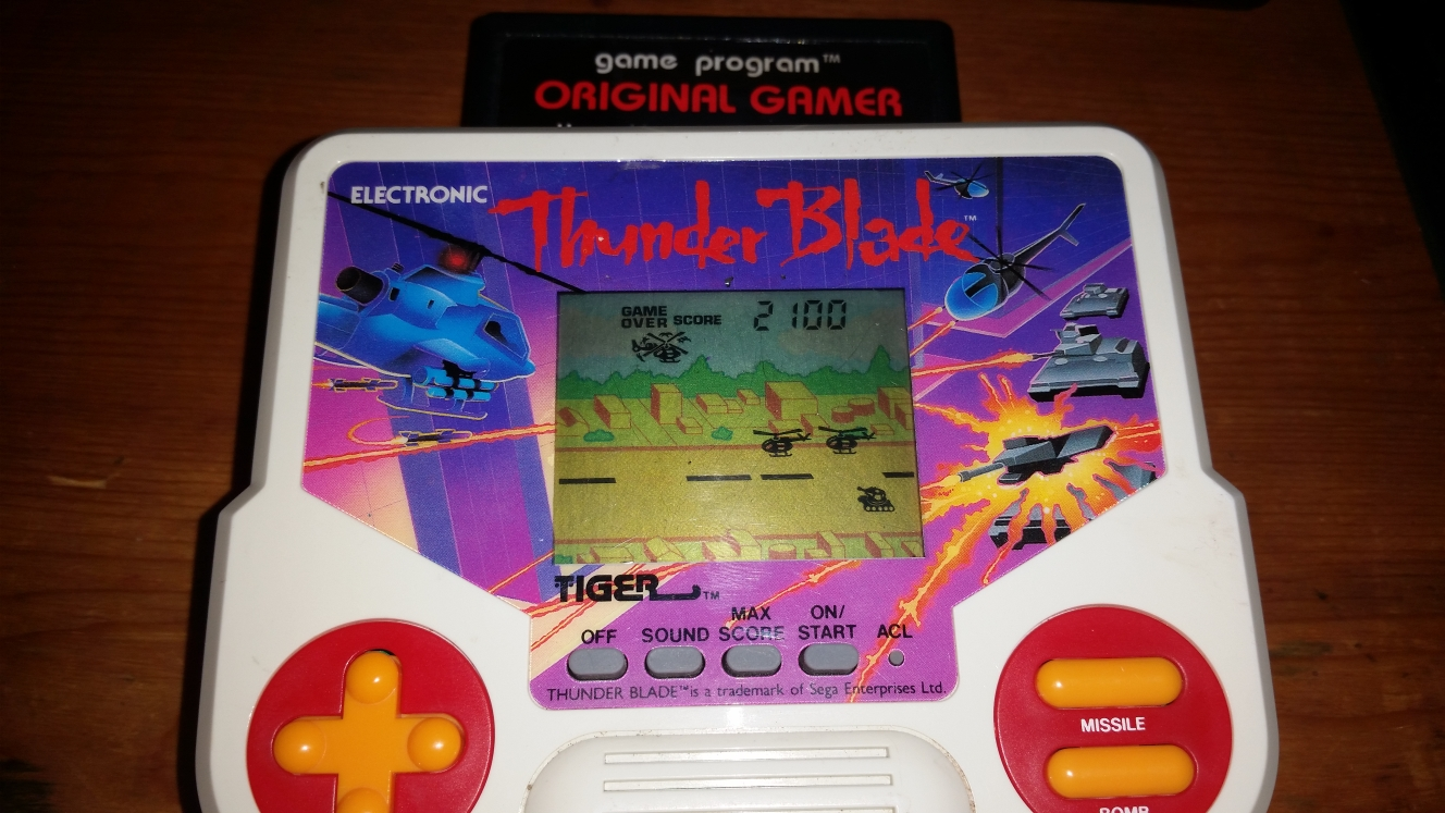 OriginalGamer: Tiger Electronics Thunder Blade (Dedicated Handheld) 2,100 points on 2016-05-04 16:14:06