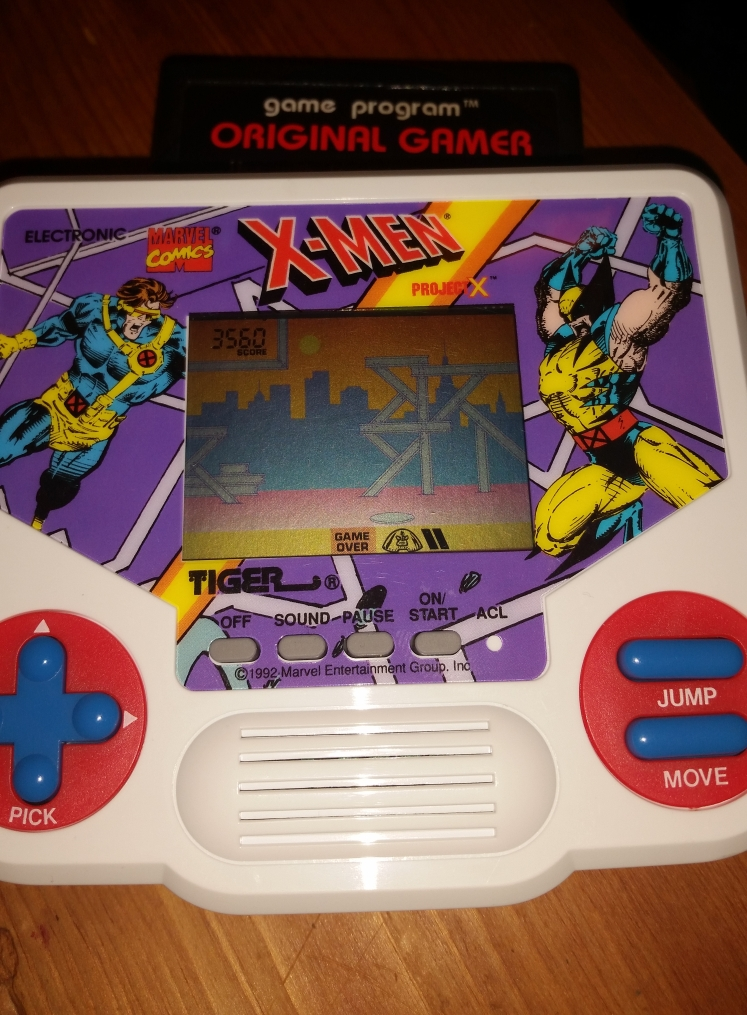 OriginalGamer: Tiger Electronics X-Men: Project X (Dedicated Handheld) 3,560 points on 2016-05-20 01:16:43