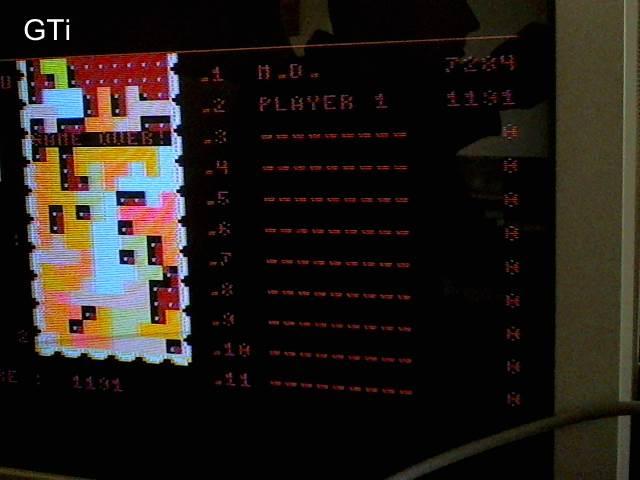 GTibel: Tigris [Speed: 9] (Atari 400/800/XL/XE) 1,191 points on 2017-09-24 01:42:15