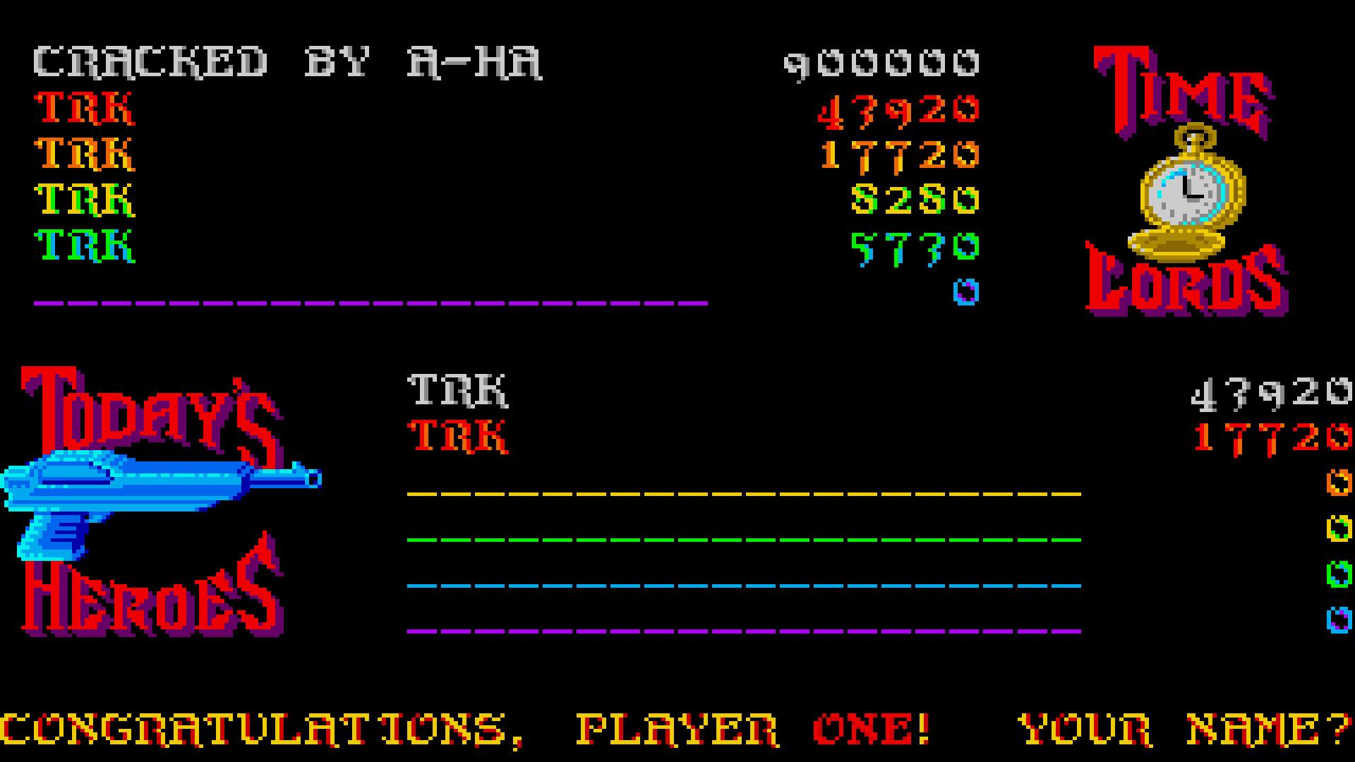 Time Bandit 43,920 points