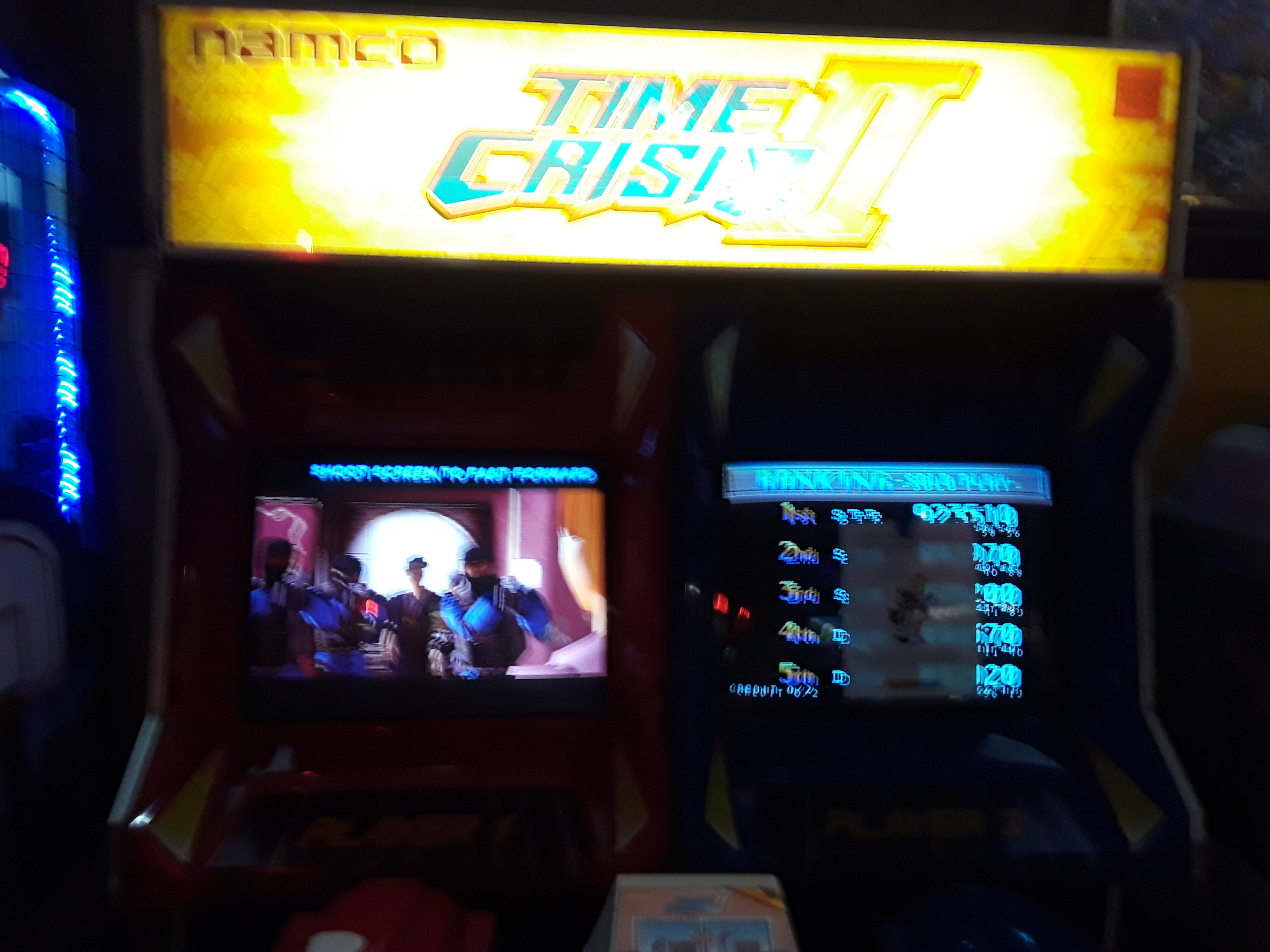 Time Crisis 2 14,820 points