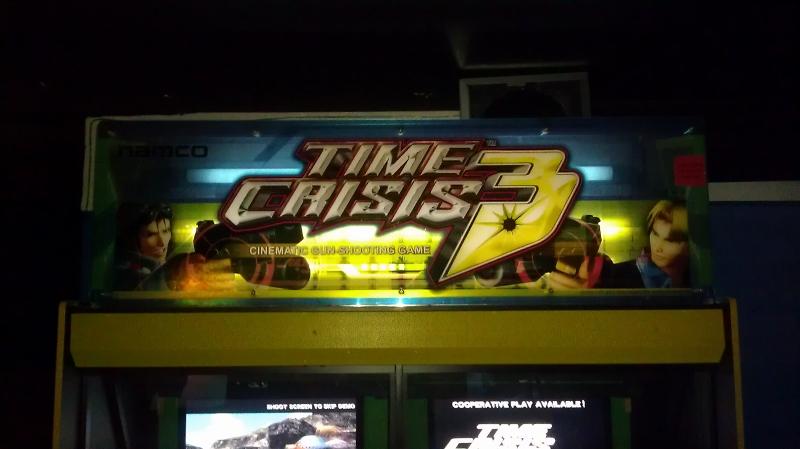 Time Crisis 3 1,053,380 points