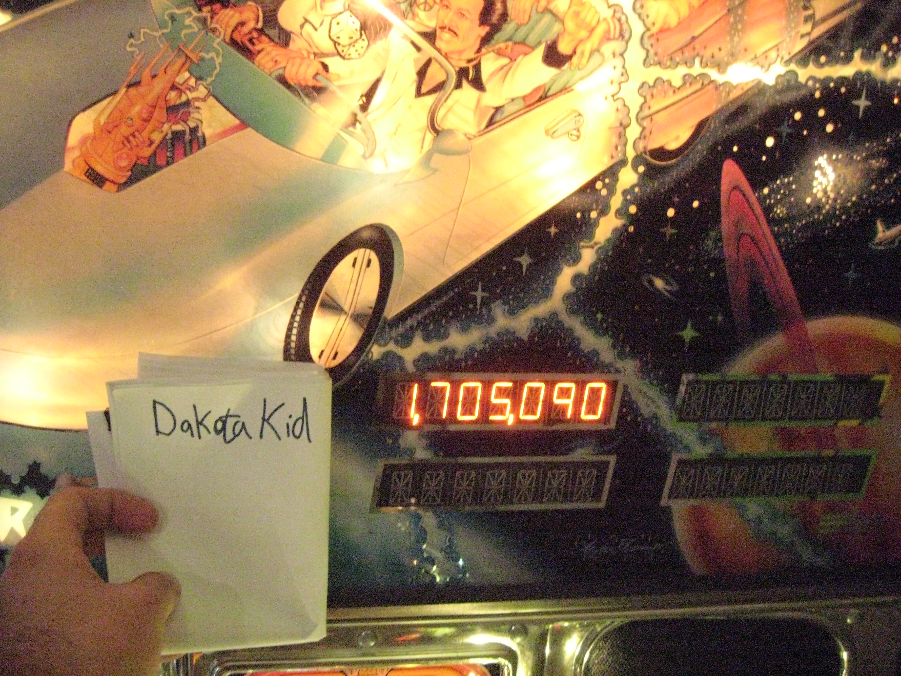 DakotaKid: Time Machine (Pinball: 3 Balls) 1,705,090 points on 2015-09-06 15:08:52
