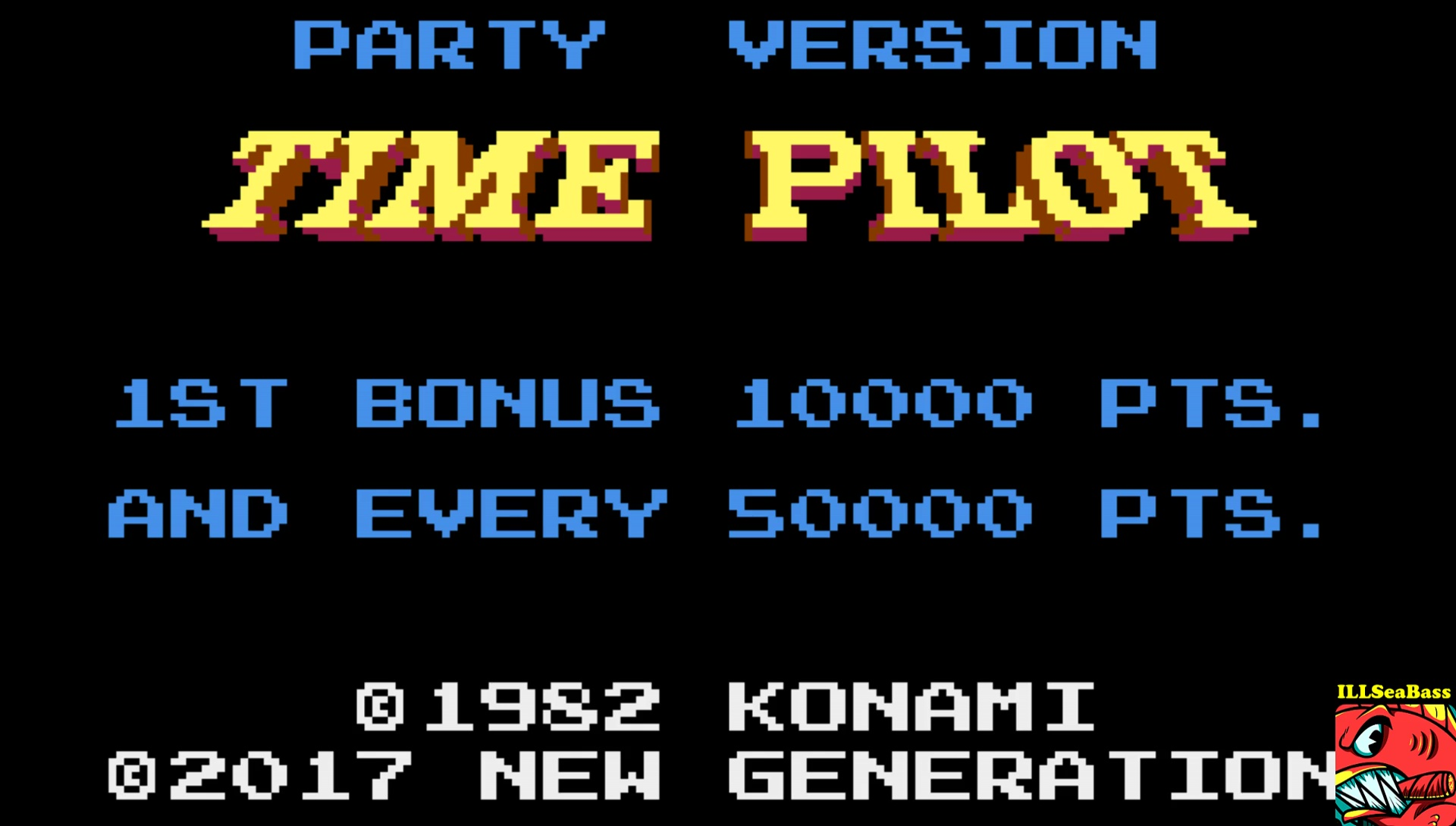 ILLSeaBass: Time Pilot (Atari 400/800/XL/XE Emulated) 73,500 points on 2017-06-03 11:10:38