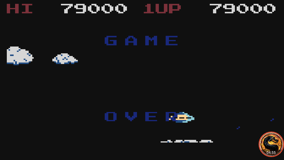 omargeddon: Time Pilot (Atari 400/800/XL/XE Emulated) 79,000 points on 2019-02-20 21:01:53