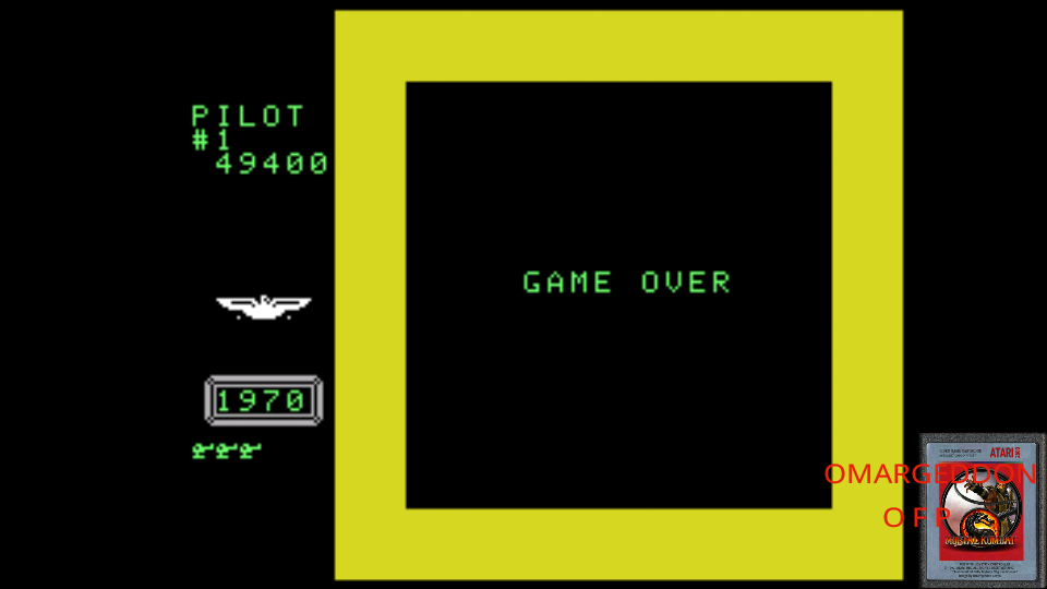 omargeddon: Time Pilot (Colecovision Emulated) 49,400 points on 2017-06-03 23:47:35