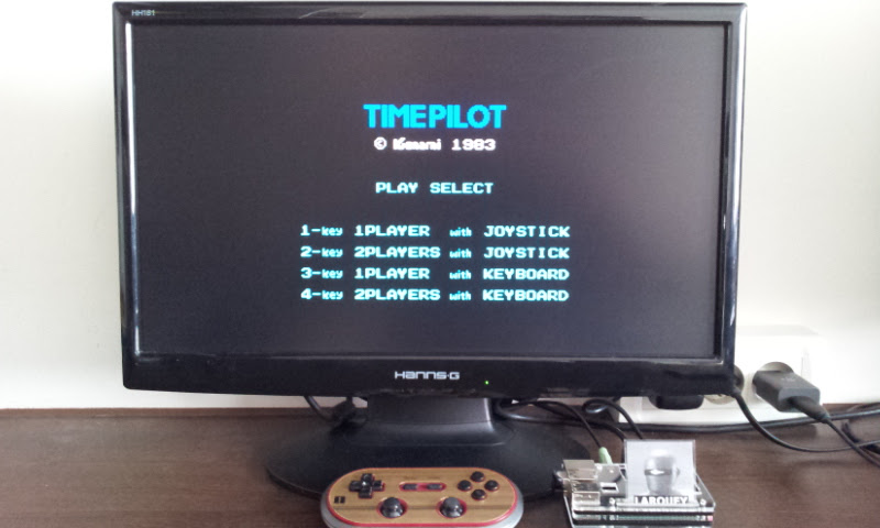 Larquey: Time Pilot (MSX Emulated) 36,300 points on 2017-07-30 10:05:49