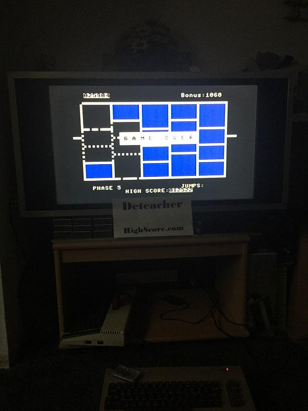 Deteacher: Time Runner (Commodore 64) 25,904 points on 2015-11-29 19:43:03