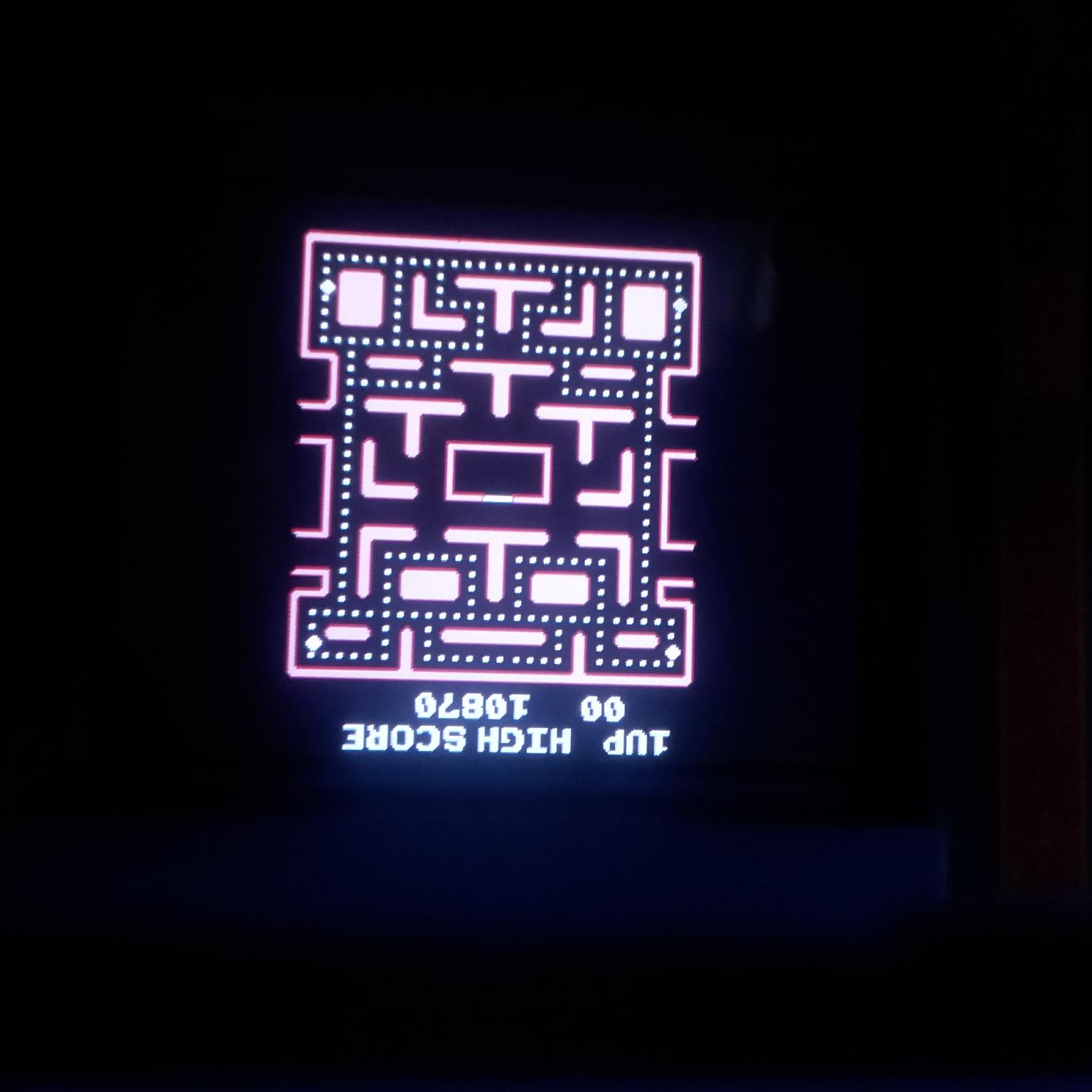 Tiny Arcade: Ms. Pac Man 10,870 points