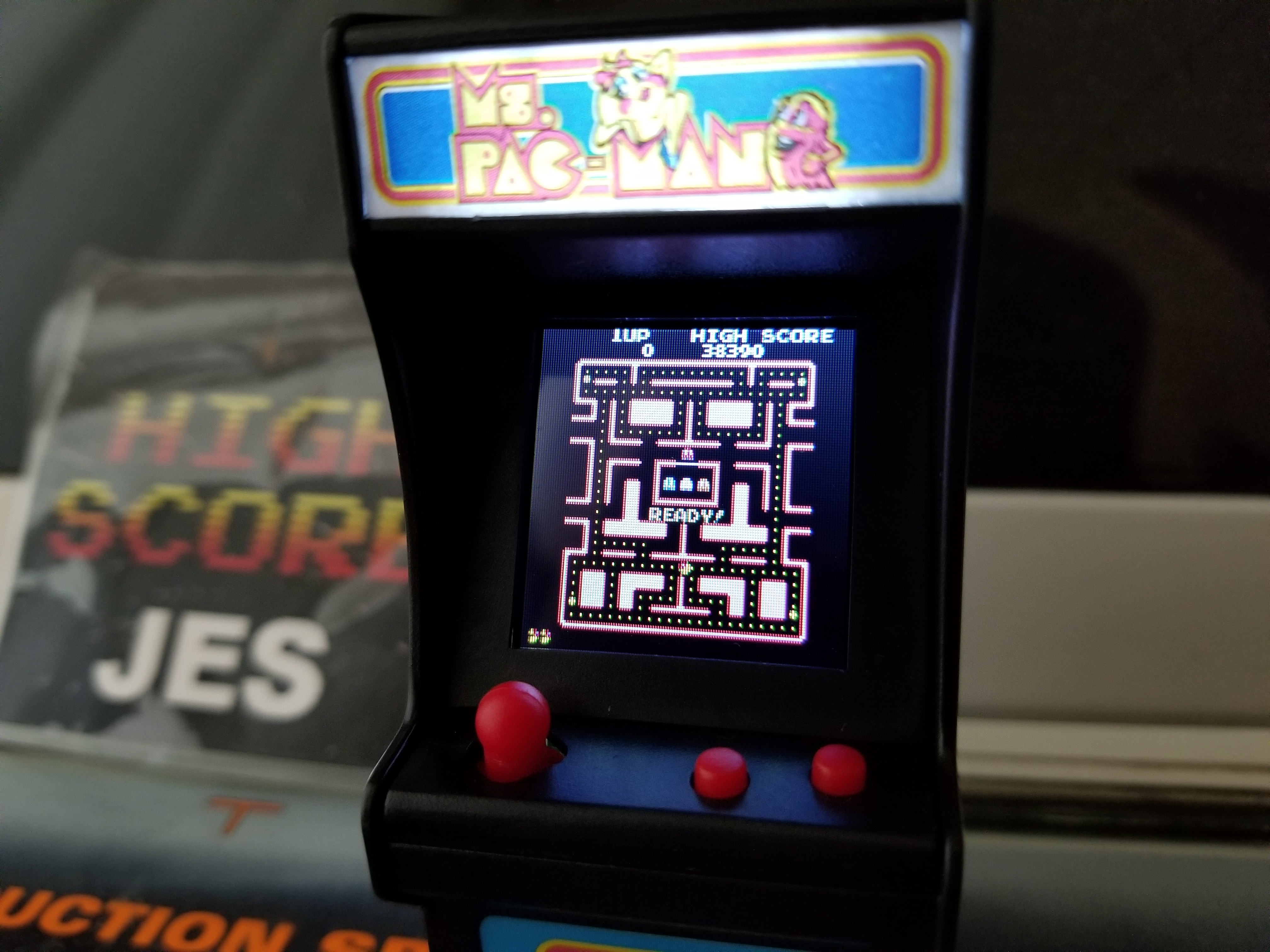 JES: Tiny Arcade: Ms. Pac Man (Dedicated Handheld) 38,390 points on 2018-08-11 16:52:55