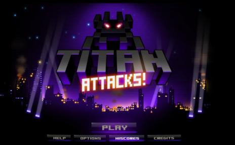 Titan Attacks [Earth Start] 82,865 points
