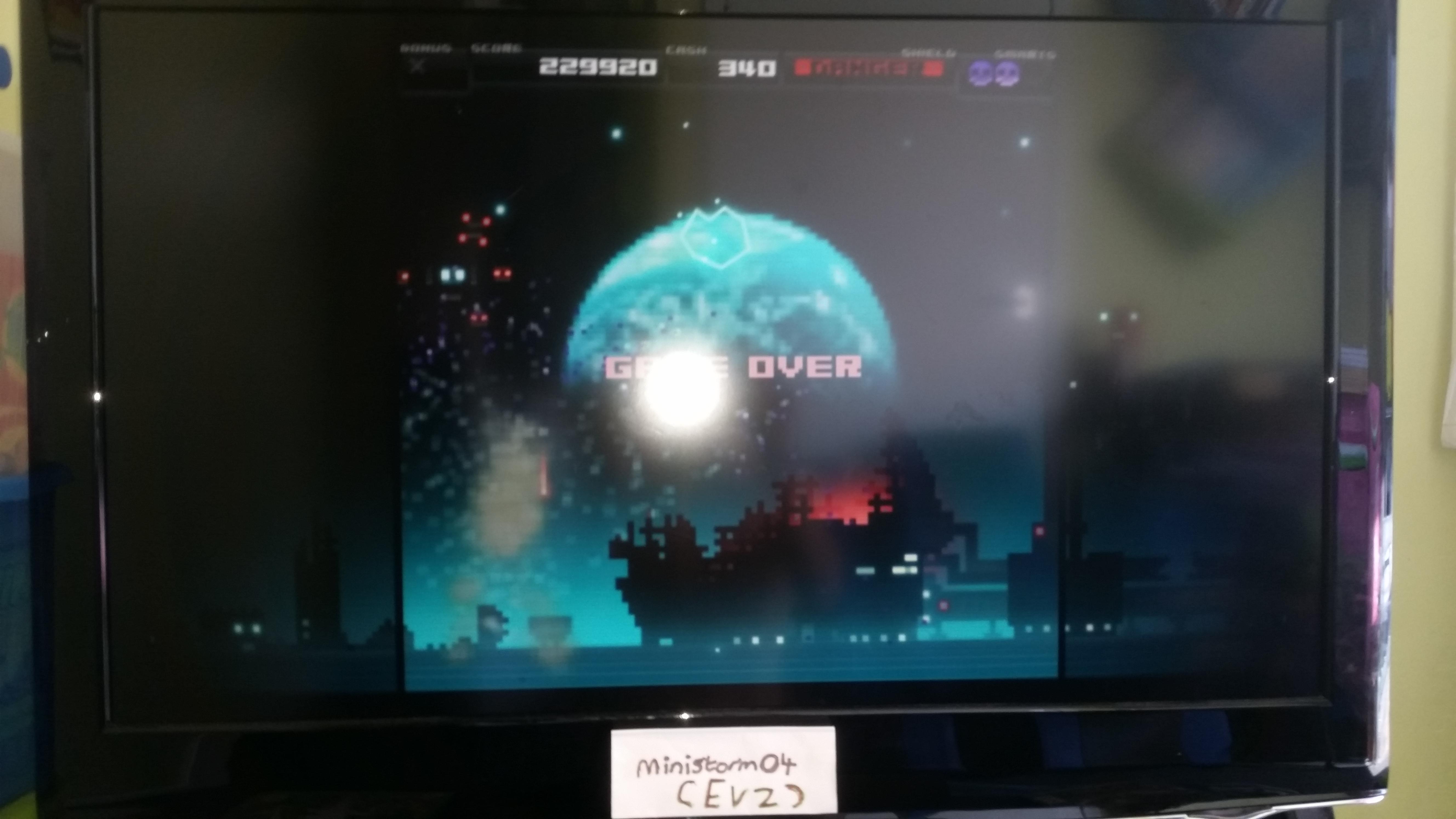 ministorm04: Titan Attacks [Earth Start] (Playstation 4) 229,920 points on 2019-06-15 06:57:31