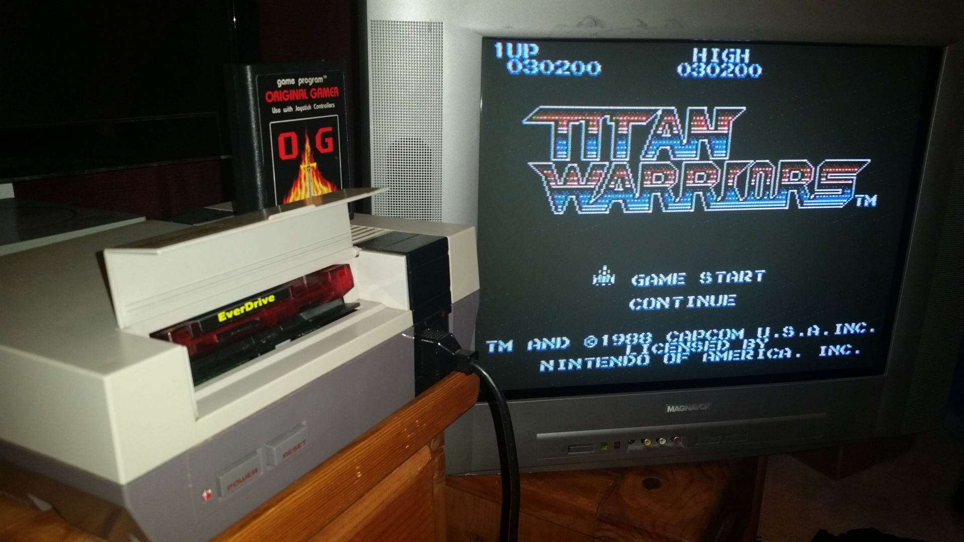 OriginalGamer: Titan Warriors (NES/Famicom) 30,200 points on 2016-09-19 01:44:06