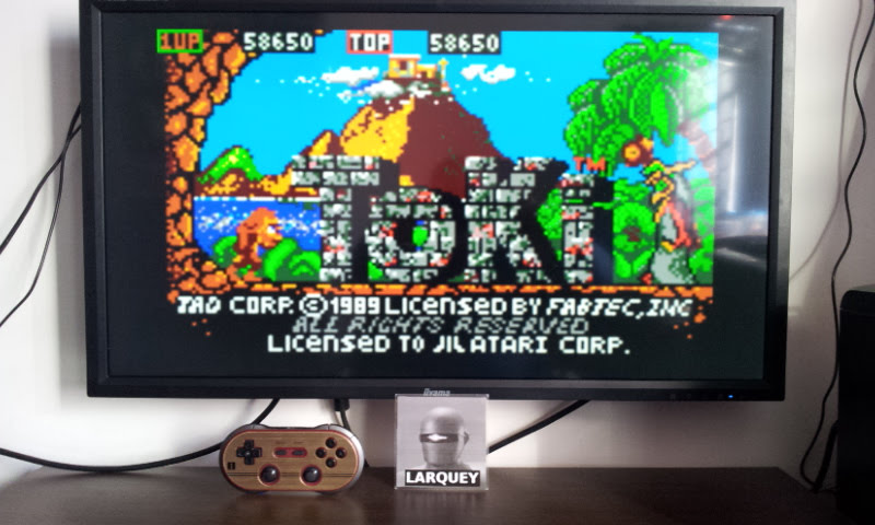 Larquey: Toki (Atari Lynx Emulated) 58,650 points on 2017-12-23 08:08:38