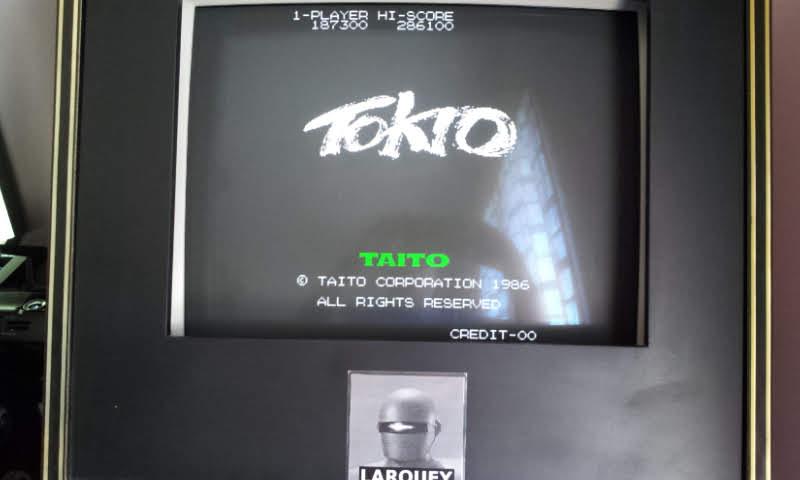 Larquey: Tokio / Scramble Formation [bootleg] [tokiob] (Arcade Emulated / M.A.M.E.) 187,300 points on 2018-05-20 08:20:21