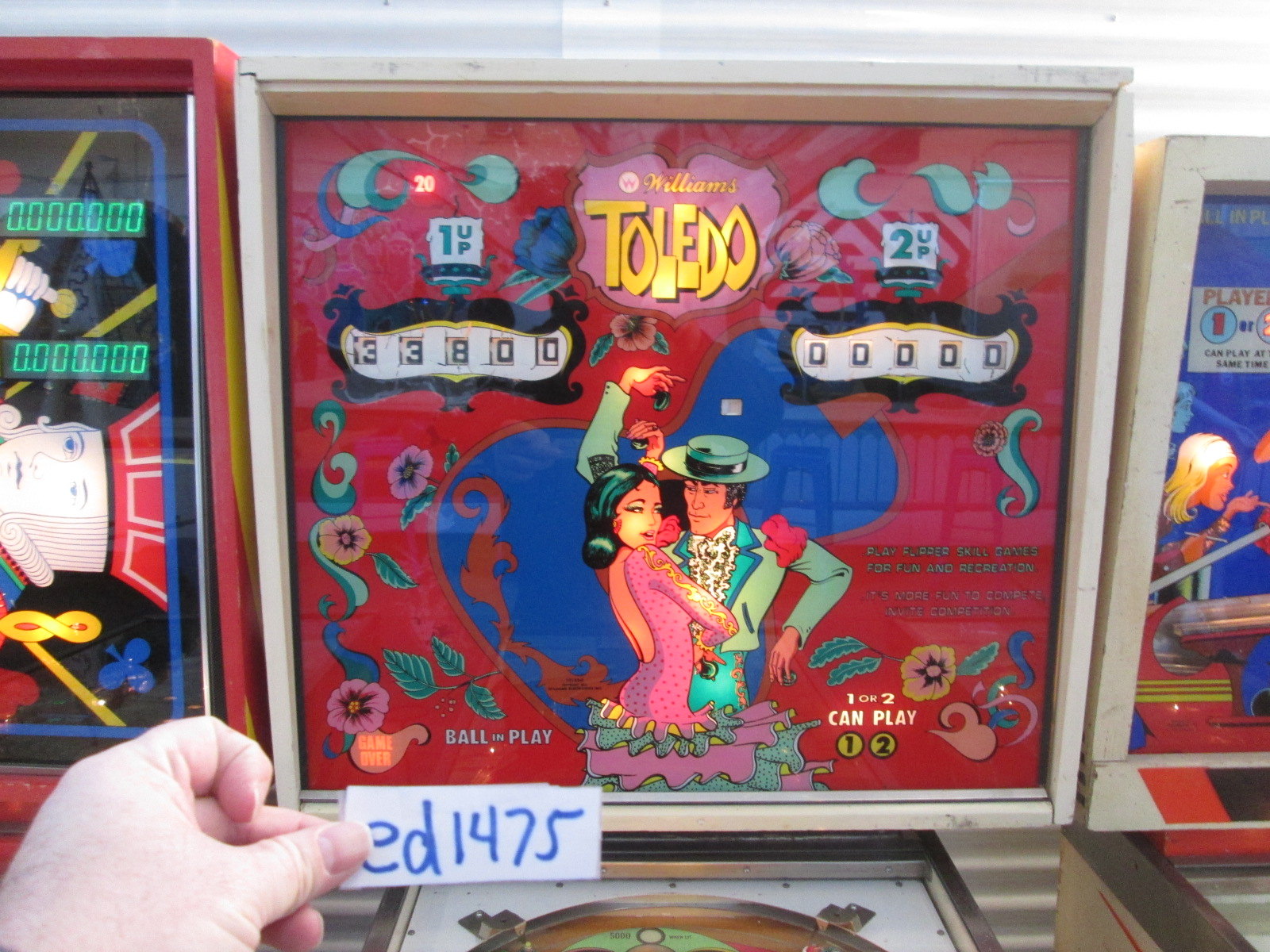 ed1475: Toledo (Pinball: 3 Balls) 33,800 points on 2017-05-19 16:23:05