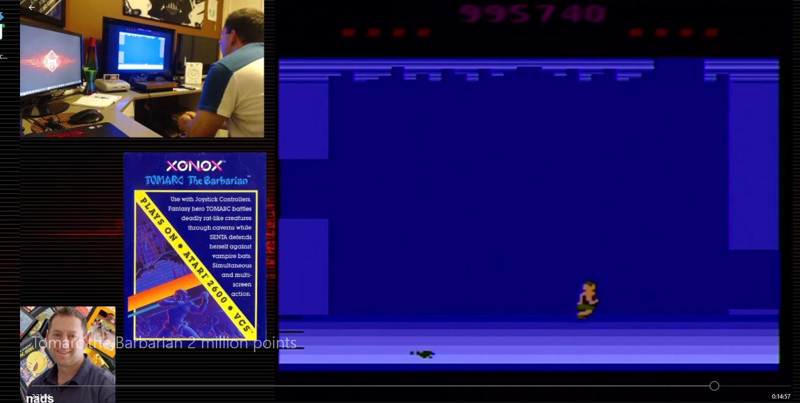 nads: Tomarc the Barbarian (Atari 2600 Novice/B) 2,310,160 points on 2020-12-26 04:40:18