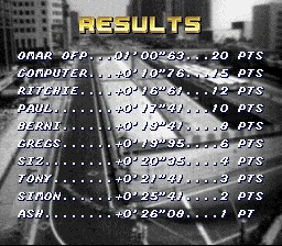 Top Gear [Track 1: Las Vegas/Amateur Difficulty/Nitro Allowed] time of 0:01:00.63