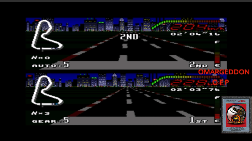 omargeddon: Top Gear [Track 3: New York/Amateur Difficulty/Nitro Allowed] (SNES/Super Famicom Emulated) 0:02:04.16 points on 2017-05-29 00:38:48