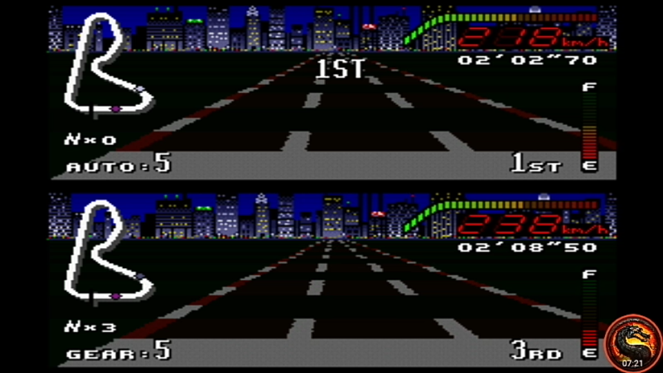 omargeddon: Top Gear [Track 3: New York/Pro Difficulty/Nitro Allowed] (SNES/Super Famicom Emulated) 0:02:02.7 points on 2020-09-01 23:37:11