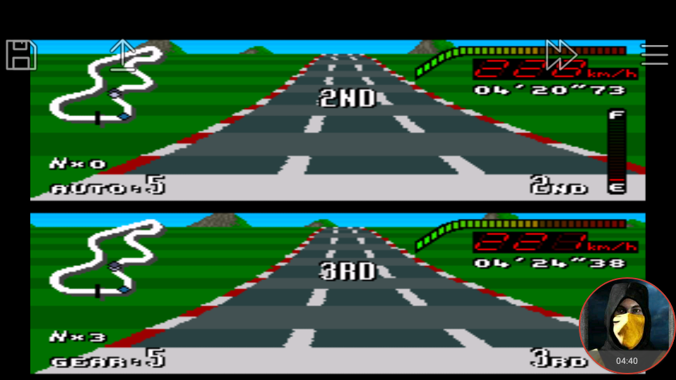 omargeddon: Top Gear [Track 5: Rio/Amateur Difficulty/Nitro Allowed] (SNES/Super Famicom Emulated) 0:04:20.73 points on 2018-01-18 19:51:57