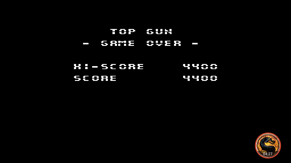 omargeddon: Top Gun the Second Mission (NES/Famicom Emulated) 4,400 points on 2019-05-26 20:58:20