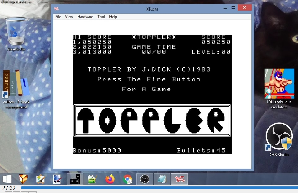 LuigiRuffolo: Toppler (Dragon 32/64 Emulated) 50,250 points on 2021-02-26 10:33:38