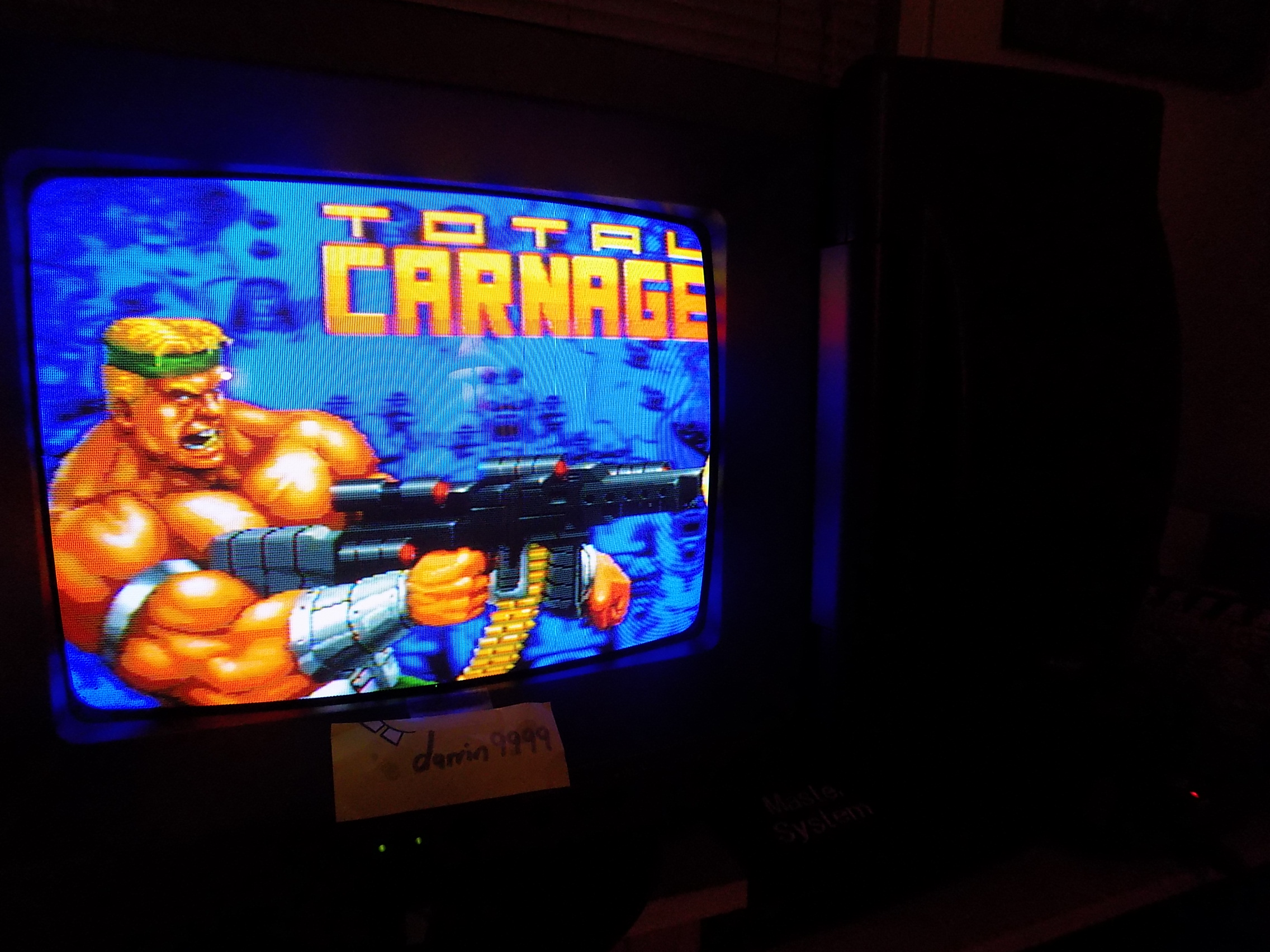 darrin9999: Total Carnage (Atari Jaguar) 5,427 points on 2017-12-21 19:45:45