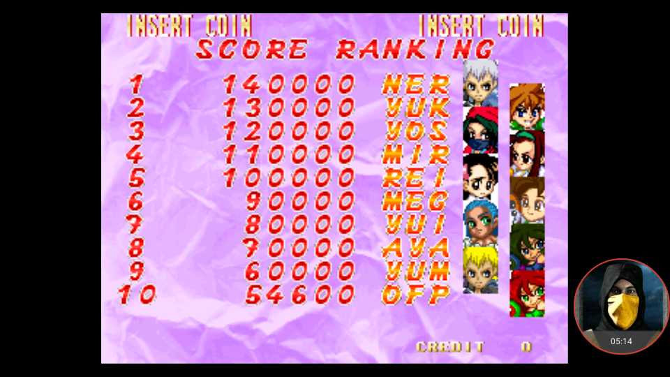 omargeddon: Touki Denshou: Angel Eyes (Arcade Emulated / M.A.M.E.) 54,600 points on 2018-02-05 00:08:16