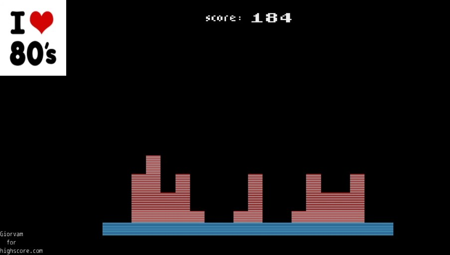 Giorvam: Tower Of Rubble (Atari 2600 Emulated) 184 points on 2020-01-04 10:28:13