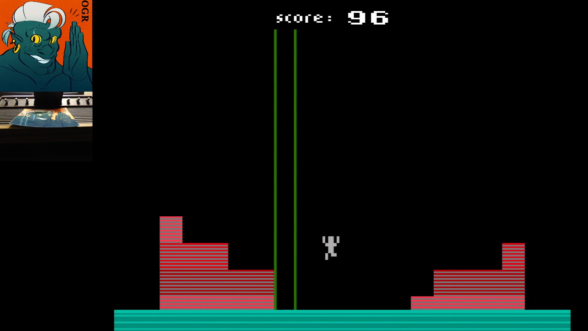 AwesomeOgre: Tower Of Rubble (Atari 2600) 96 points on 2020-03-11 06:36:21