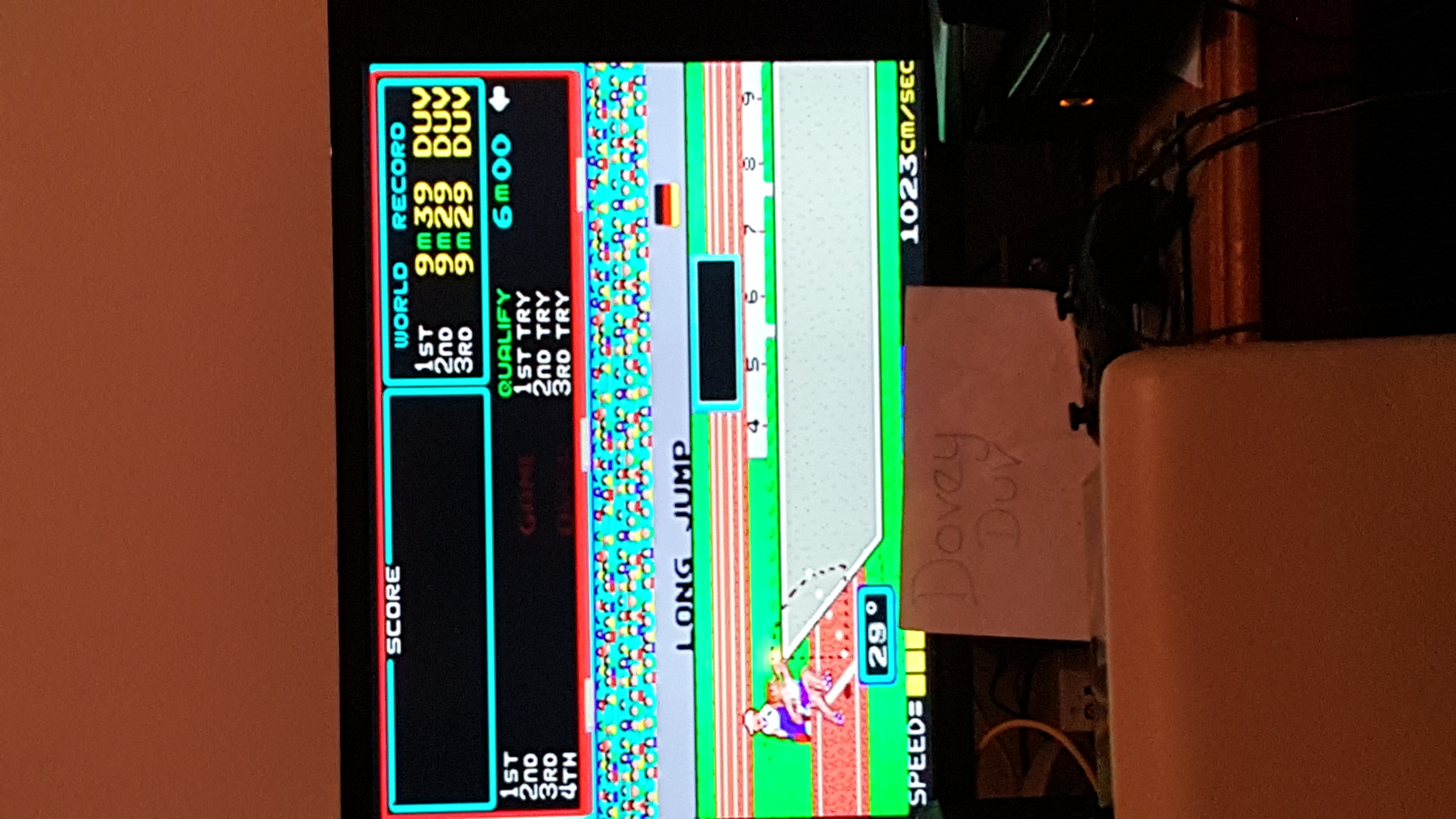 dovey: Track & Field [Marathon: Continuing Allowed After 1st Loop Ends] (Arcade Emulated / M.A.M.E.) 147,340 points on 2016-06-26 14:47:24