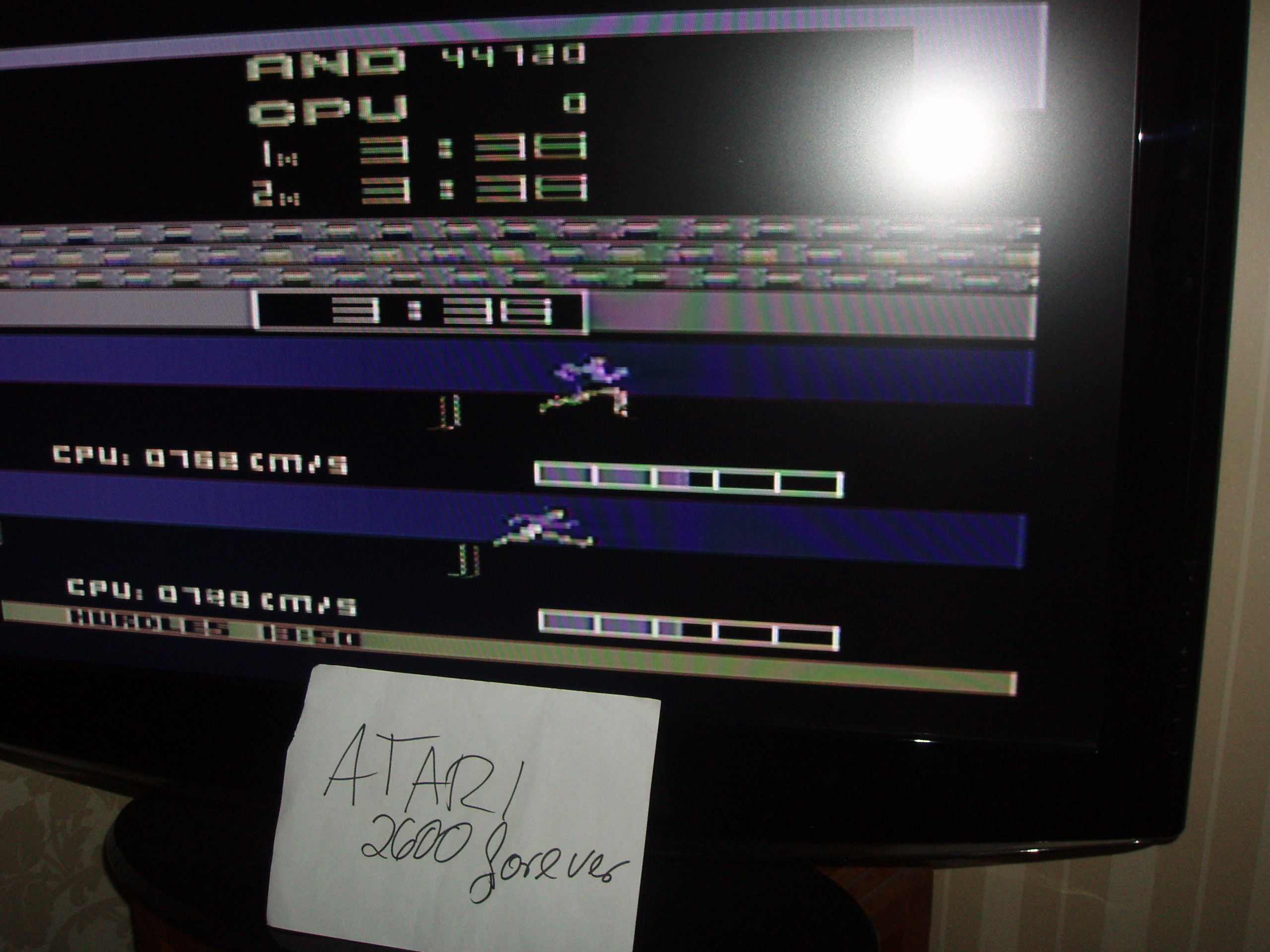 atari2600forever: Track and Field (Atari 2600 Novice/B) 44,720 points on 2017-07-21 03:41:18
