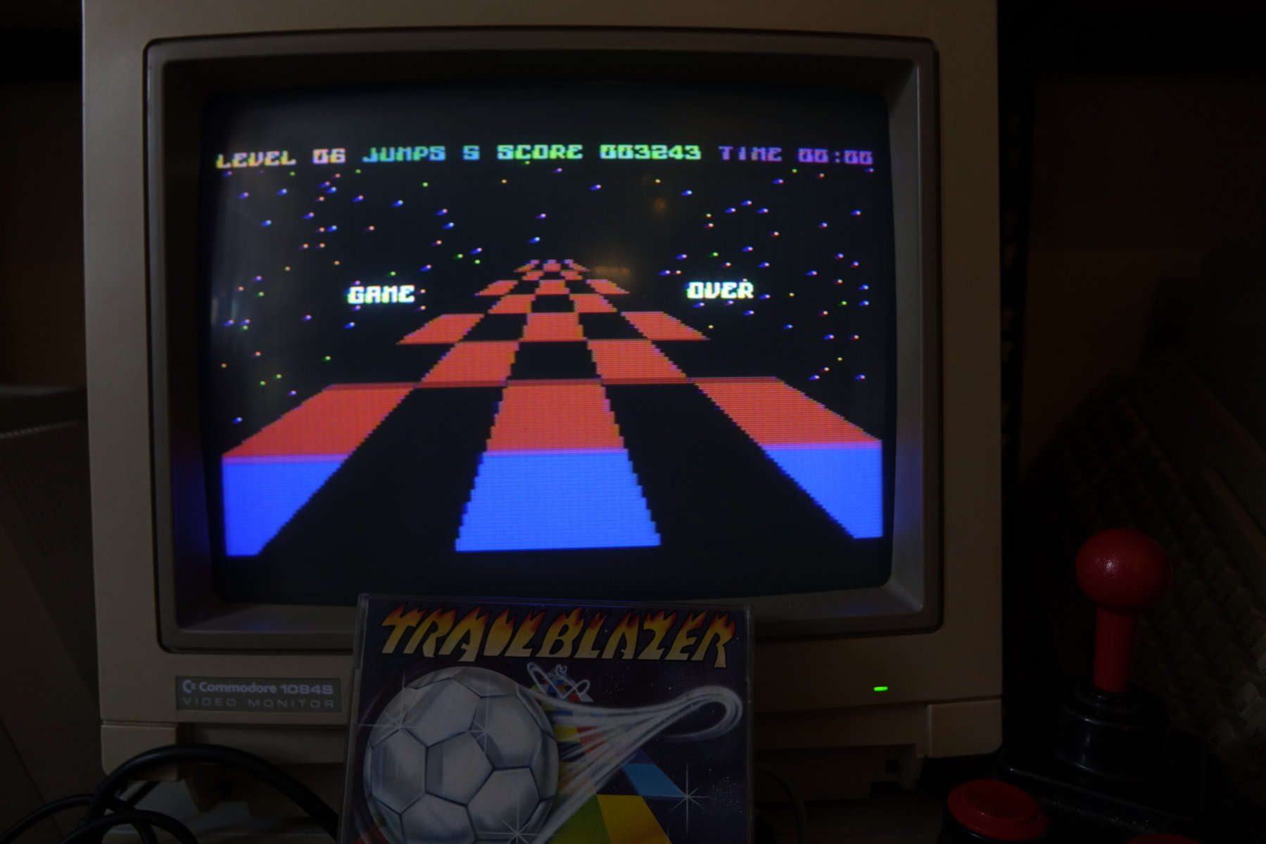 plus4punk: Trailblazer (Commodore 16/Plus4) 3,243 points on 2020-04-14 12:22:00