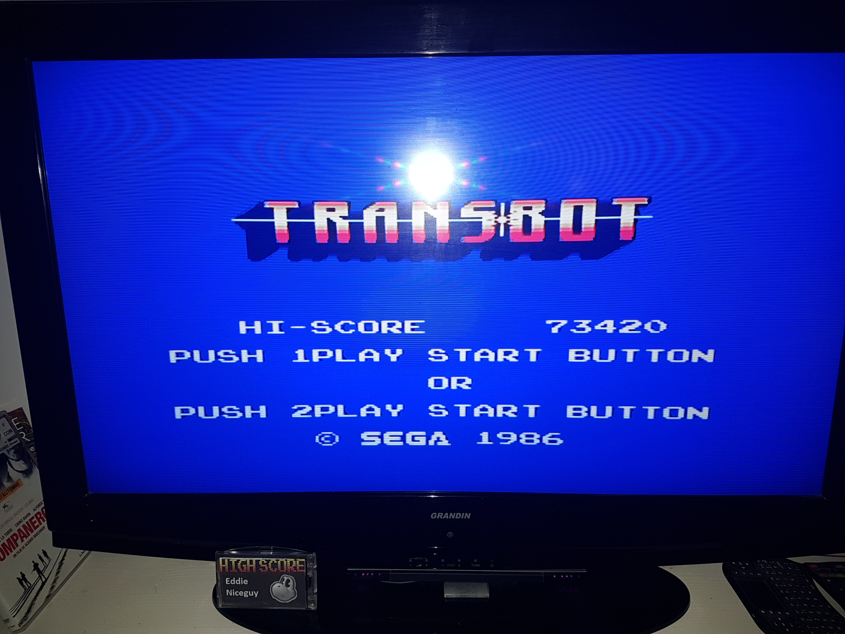 EddieNiceguy: Transbot (Sega Master System Emulated) 73,420 points on 2019-10-04 15:46:10