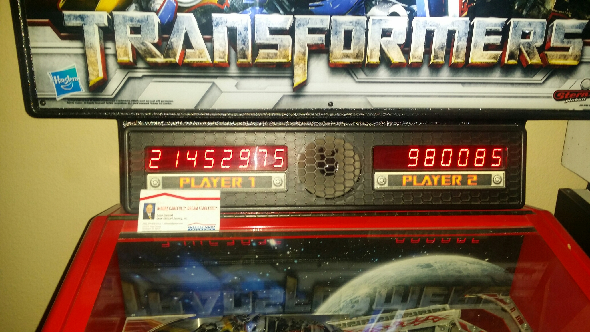 SeanStewart: Transformers: The Pin (Pinball: 3 Balls) 21,452,975 points on 2017-01-01 22:41:49
