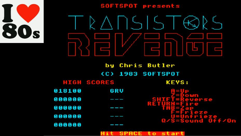 Transistors Revenge 18,100 points